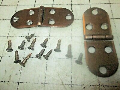 Singer Sewing Machine Cabinet Hinges Set with screws
