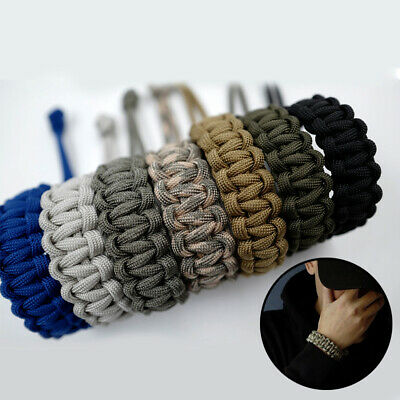 4x Grunt PARA CORD 3mmx15m Abrasion Resistant Assorted Colours *Aust Brand