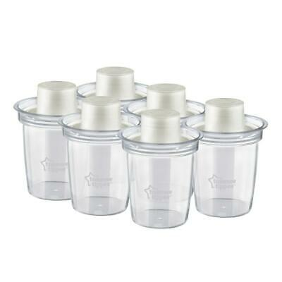 Tommee Tippee Closer To Nature Milk Powder Dispensers - 6 Pack