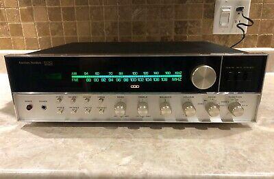 Vintage Harman Kardon 930 Twin Powered Stereo Receiver - Cleaned & Tested -