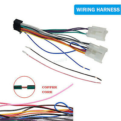 Radio Stereo Wire Harness Adapter For Pioneer DEH AVH DEH-P4500MP fits Toyota