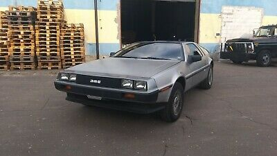 DELOREAN DMC12, 1981, 20.500 mil STEG 2 Engine 198HP runing condition