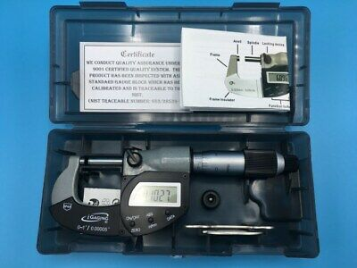 "iGaging Absolute Electronic Digital Micrometer IP65 2-3""/50-75mm w/ Data Output"