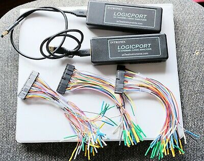 Intronix La1034 Logicport 34 Channel Logic Analyzer