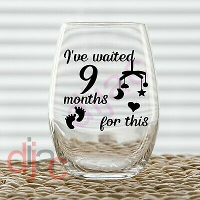 Pink or Blue crafts etc For glasses Ive waited 9 months for this vinyl decal