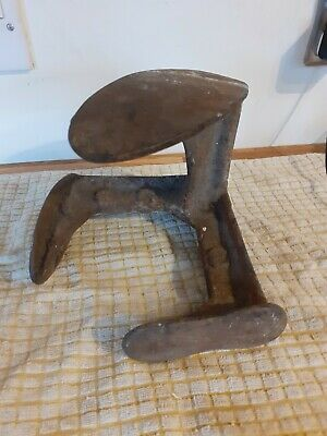 Antique 3-in-1 Cast Iron Cobblers Last / Anvil Form~Shoe/ Boot~3.140kg~door stop