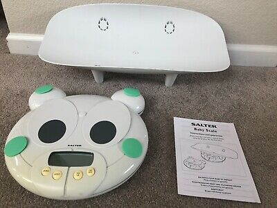 Salter Electronic Baby Toddler Safety Scale Comfortable Secure Weight Reader