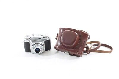 Old Beirette Camera Analogue Compact Camera Old Vintage Camera and Case