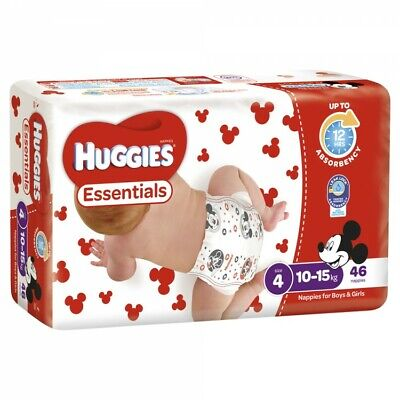 Huggies Essential Stage 4 Toddler - 46 Pack Carton4