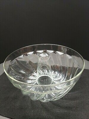 Schott Mainz Jena Glass Bundt Pan