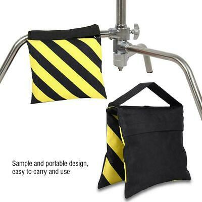 Yellow&Black Sandbag Photography Sand Bag for Photo Video Light Stand Tripod
