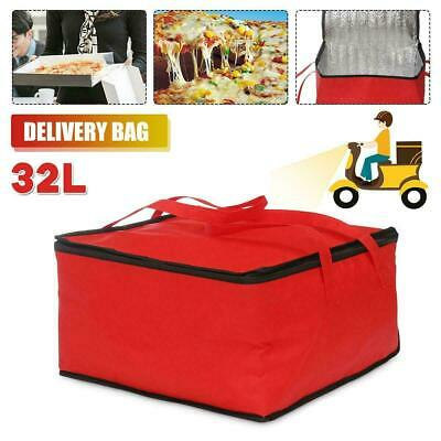15'' Pizza Food Delivery Bag Insulated Thermal Storage Holder Outdoor Picnic UK