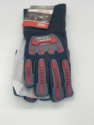 Genuine Lincoln Electric K3109-S Roll Cage Welding Gloves Small