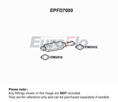 FORD C-MAX 2.0D Diesel Particulate Filter DPF 08 to 10 78003RMP Soot BM 1420068