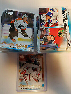 2019-20 Ud Series 2 Young Guns U-Pick From List Elvis Marino Frost Hayton ++