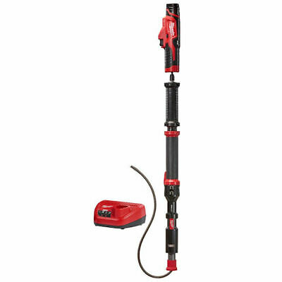 Trap Snake 12-Volt Lithium-Ion Cordless 4' Urinal Auger Drain Cleaning-see notes