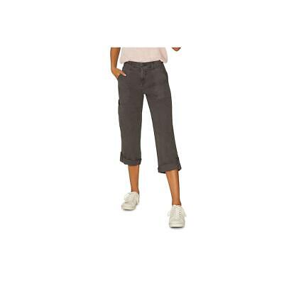 Sanctuary Womens Cropped Utility Cuffed Cargo Pants BHFO 7432