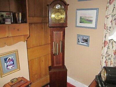 Vintage Grandfather/Grandmother Westminster Clock- Very Good Working Order