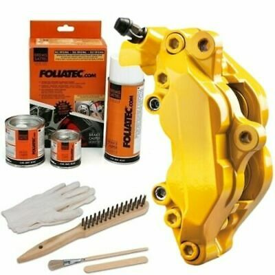 Heat Resistant Brake Calliper Paint Kit For All Car & Motorcycle Models Yellow