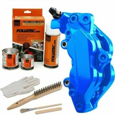 Heat Resistant Brake Calliper Paint Kit For All Car & Motorcycle Models Gt Blue