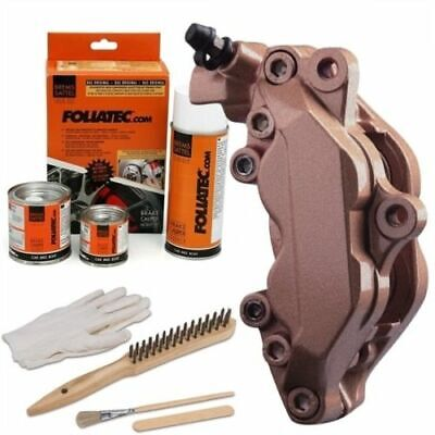 Heat Resistant Brake Calliper Paint Kit Car & Motorcycle Models Copper Metallic