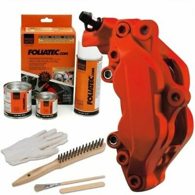 Heat Resistant Brake Calliper Paint Kit For All Car & Motorcycle Models Matt Red