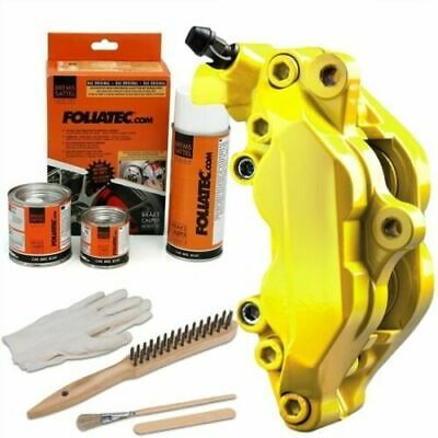 Heat Resistant Brake Calliper Paint Kit Car & Motorcycle Models Bright Yellow