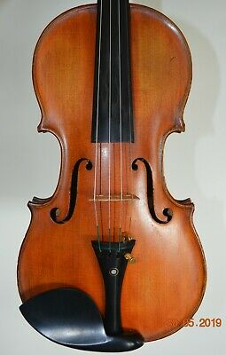 "A VERY NICE OLD FRENCH VIOLIN Labelled ""H.CLOTELLE"" !!!"