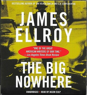The Big Nowhere by James Ellroy - CD Audiobook Unabridged- Like New - 14 Discs