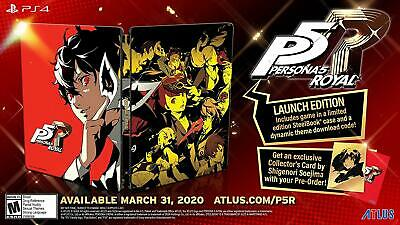Persona 5 Royal: Steelbook Launch Edition (Import version: North America) - PS4