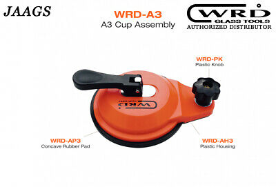 WRD-A3 Anchor Cup With Concave Rub Pad windshield removal cups