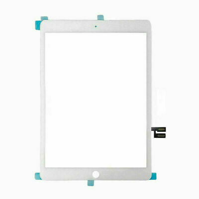 """White Screen Digitizer Glass For iPad 7 7th Gen 2019 10.2"""" A2197 A2198 A2200"""