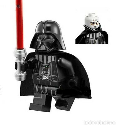 DARTH VADER STAR WARS MINIFIGURE - Fits LEGO - FREE UK POSTAGE - EMPIRE STRIKES