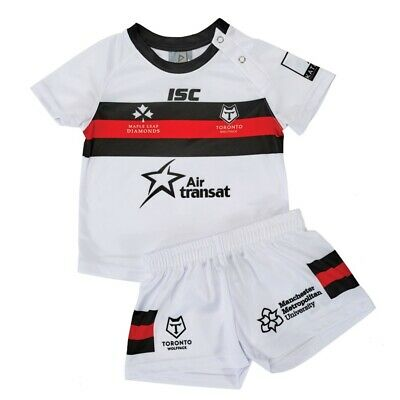 TORONTO WOLFPACK RUGBY LEAGUE KIDS KIT rrp £30 Size 2
