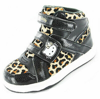 Girls Kids Hello Kitty Cartoon Character Viola Casual Trainer Boot Shoe