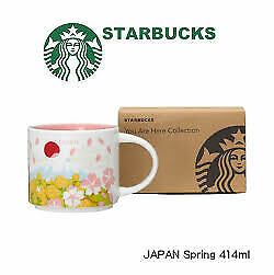 STARBUCKS JAPAN 2020 You Are Here Collection Mug Spring 414ml With Box Limited