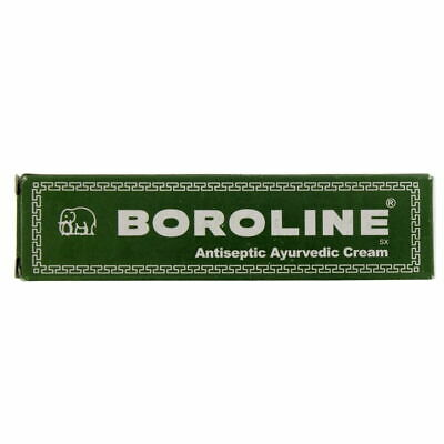 Boroline Antiseptic Ayurvedic Cream 20g with the elephant logo