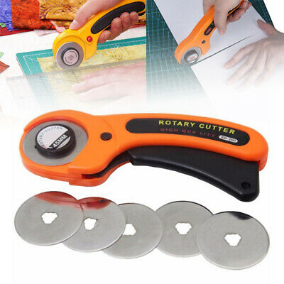 20pc 45mm FAST Circular Rotary Cutter Refill Blades Sewing Fabric Cutting Tool