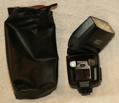 Nikon SB-26 autofocus zoom Speedlight with SS-24 pouch and manual