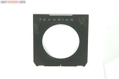 Linhof Technikca Copal #3 65mm Lens Board. Graded: EXC- [#9062]