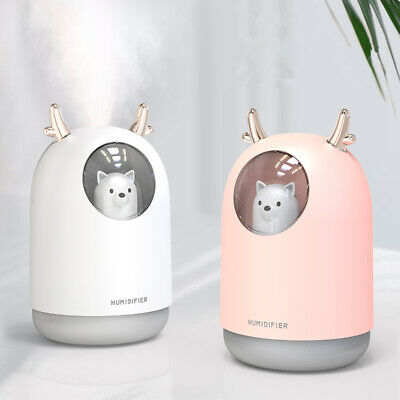 New LED Ultrasonic Aroma Diffuser Essential Oil Humidifier Aromatherapy Purifier