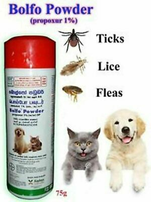 Bolfo Dogs and Cats Anti Tick,Flea and Lice Powder Insect Killer Talc Coat Care