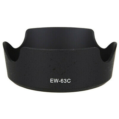 For Canon EF-S 18-55mm/55-250mm STM Camera Lens Hood Shading Shade EW-63C EW63C