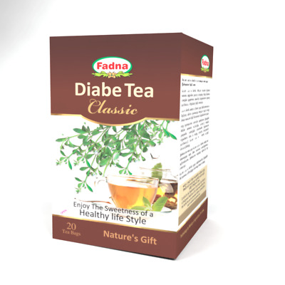 Fadna Diabe Tea Classic is formulated to enjoy the sweet taste without sugar