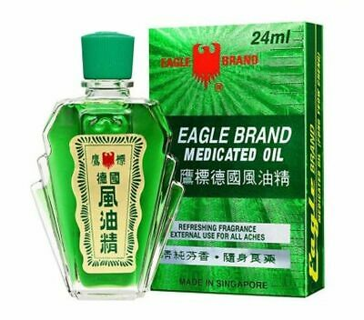Eagle Brand Medicated Oil For Aches & Pain Relief 24ml