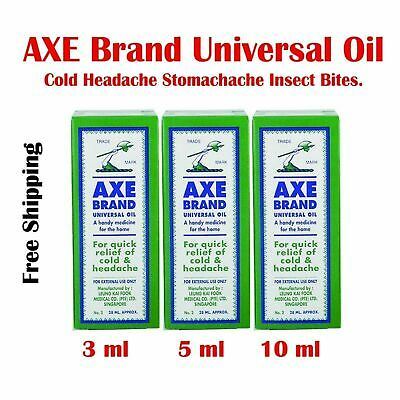 AXE Brand Universal Oil Cold Headache Stomachache Insect Bites Free Shipping