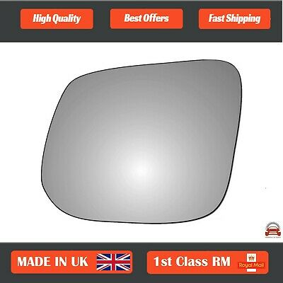 FORD GALAXY 1995-/>2006 CONVEX WING//DOOR MIRROR GLASS WITH STICKY PAD,LEFT SIDE