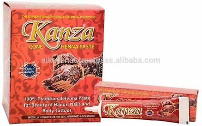 Kanza Cone Henna Paste for Hands and Body Special for EID, Weddings & Occasions