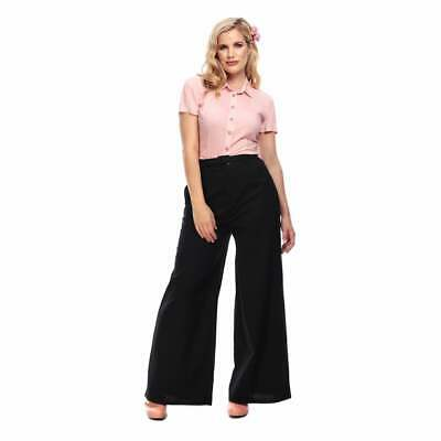 Collectif Vintage Vicky Plain Trousers