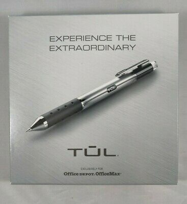 2 TUL handcrafted pens 1 ballpoint ( 6825475) 1 gel ( 1373923) new in box